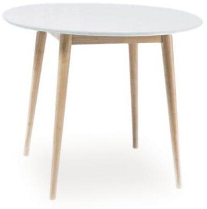 Stół dąb bielony