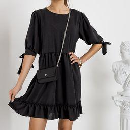 Sukienka z łańcuszkiem