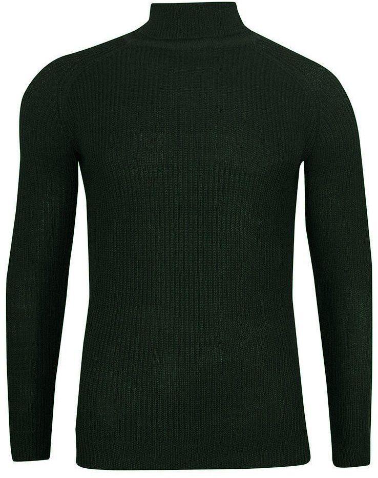 Sweter z golfem męski