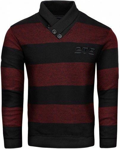 Sweter z kołnierzem