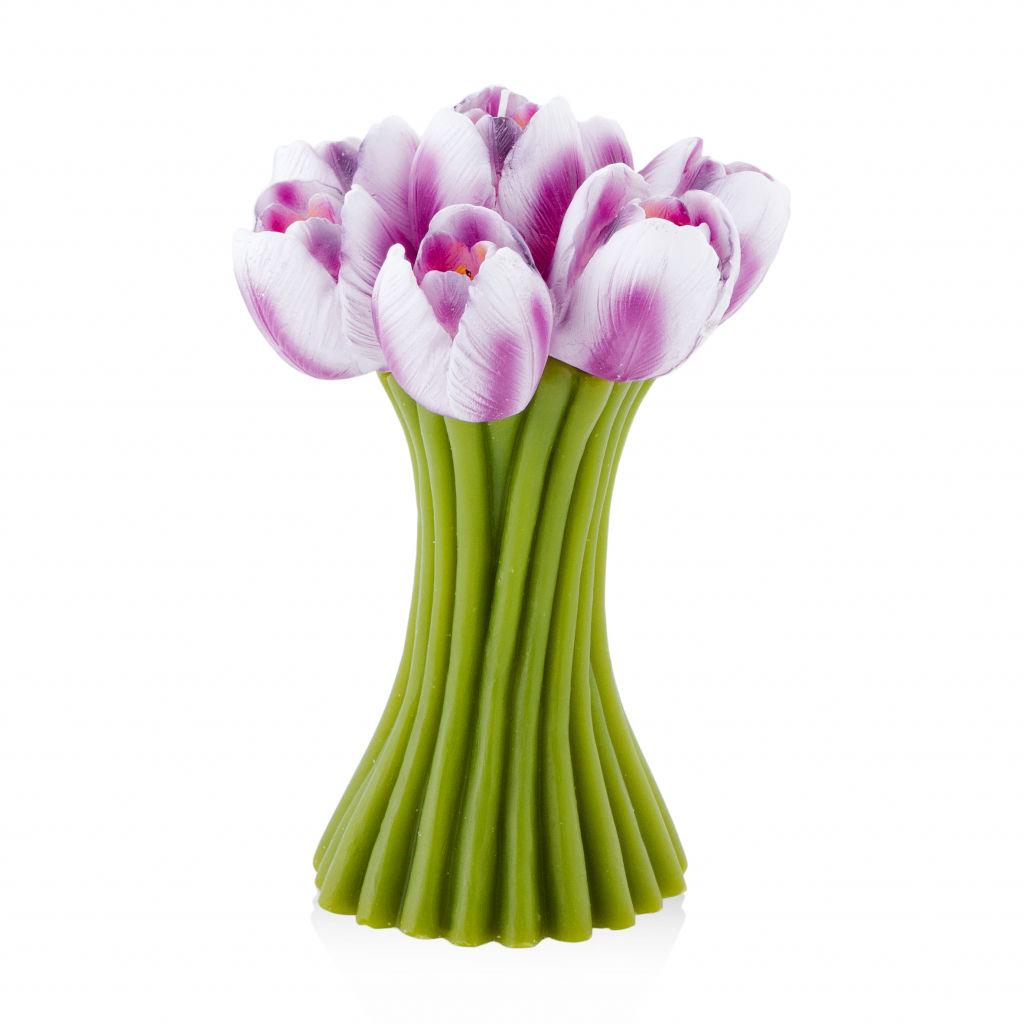 Świece fioletowe