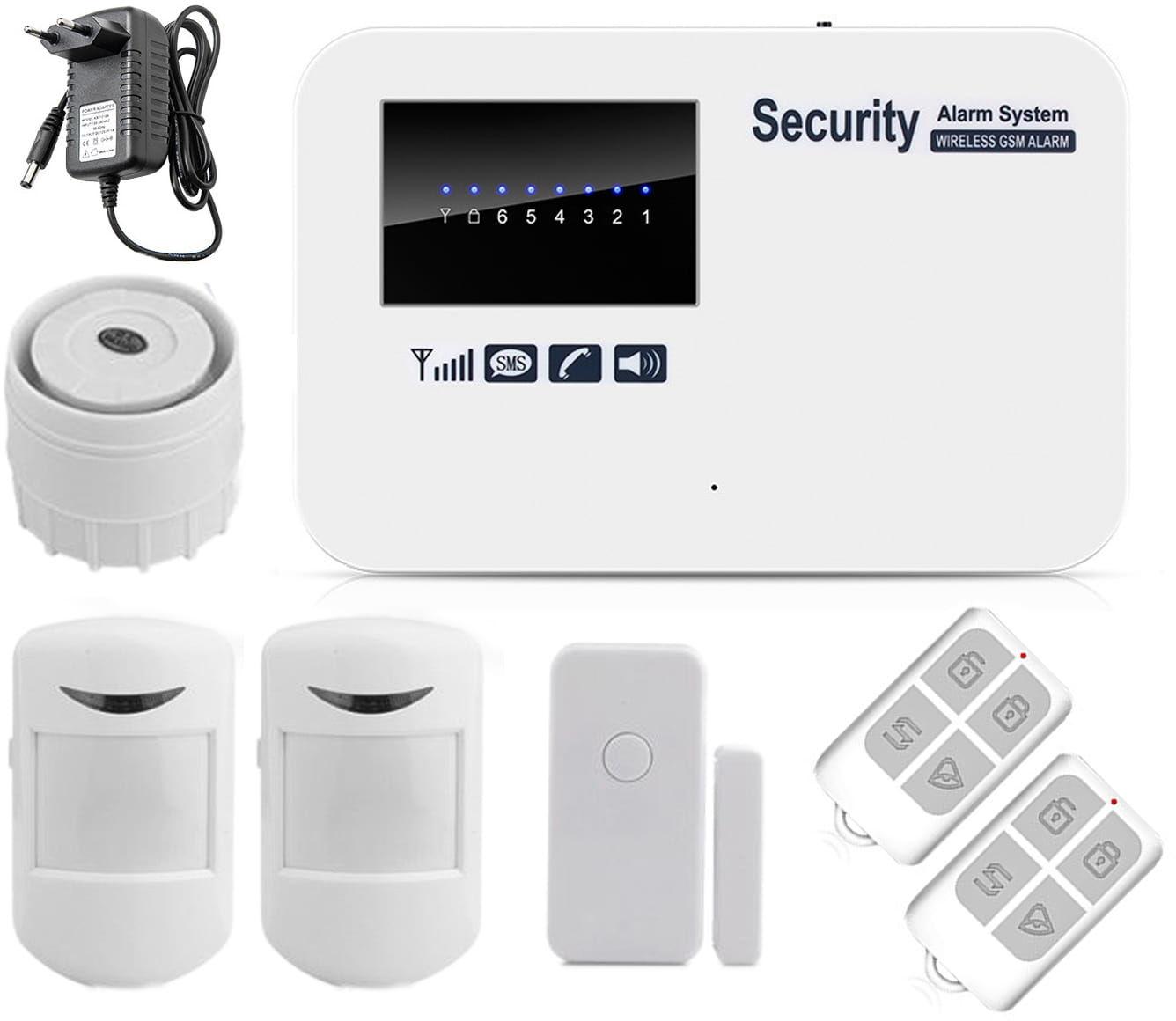 System alarmowy bezprzewodowy