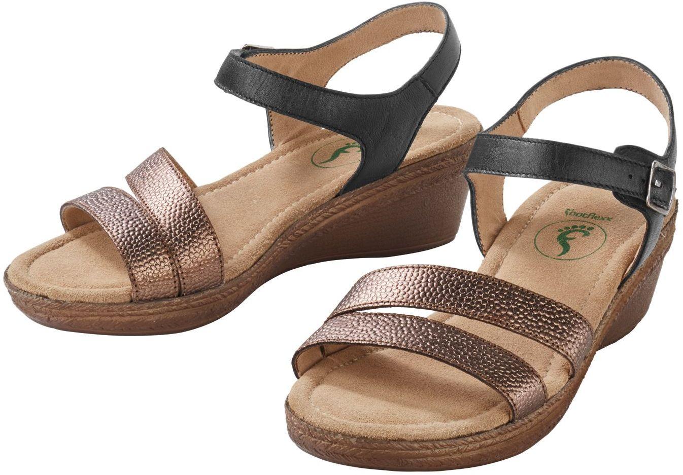Szerokie sandały