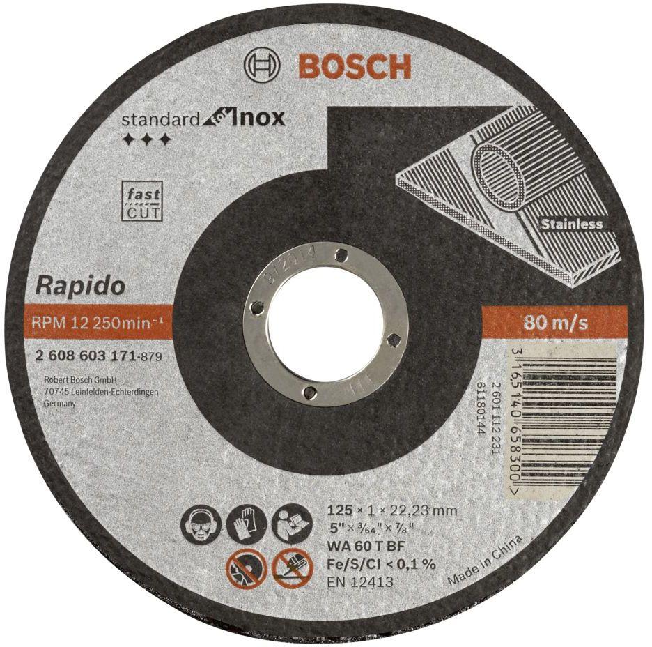 Tarcze do szlifierki Bosch
