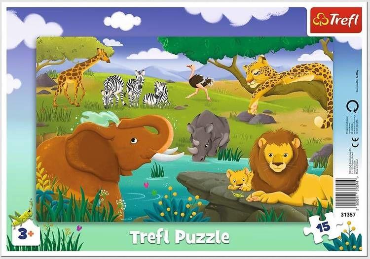 Trefl puzzle 15 elementów
