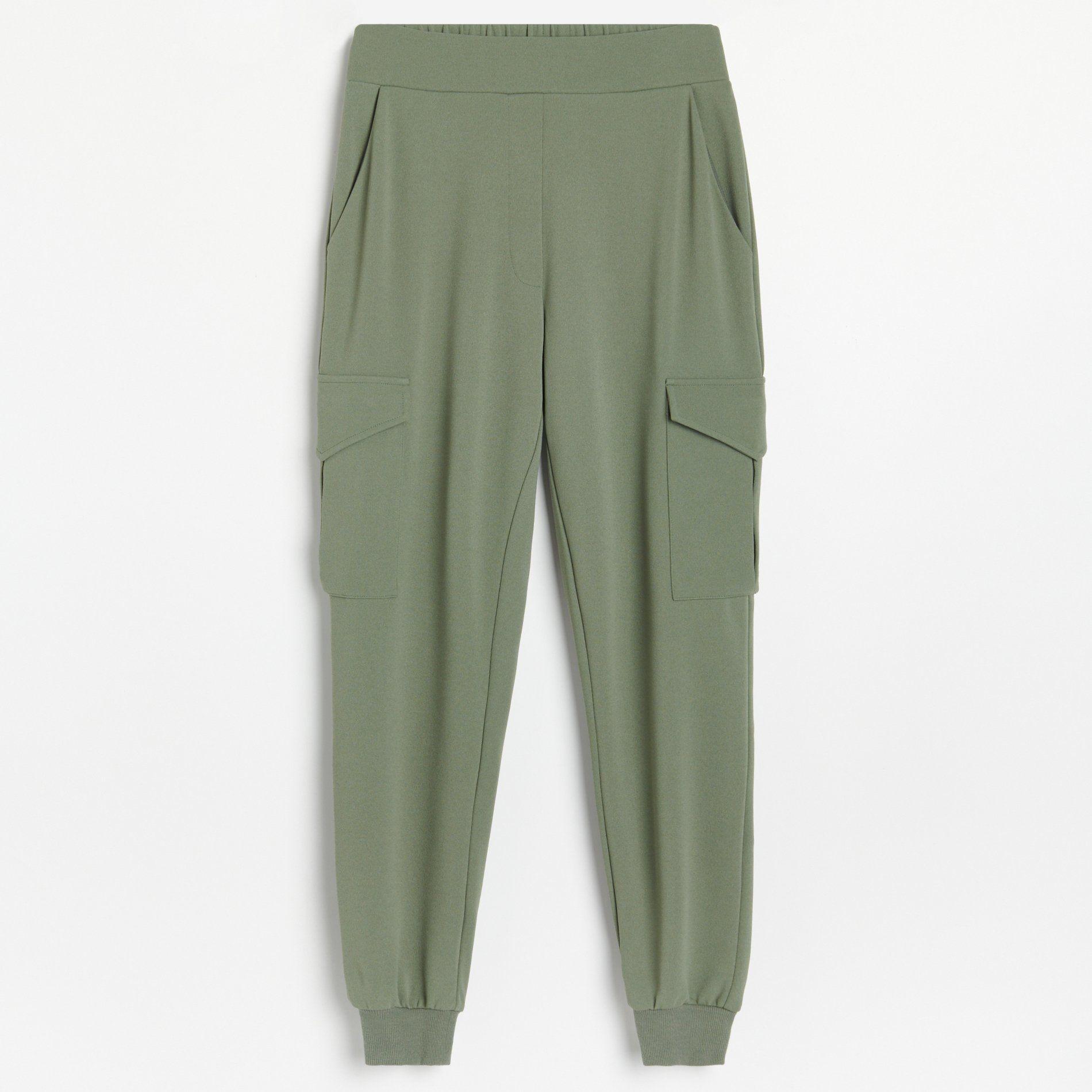 Turkusowe spodnie