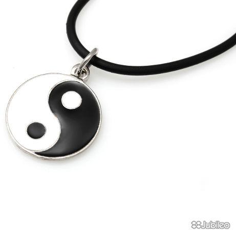 Wisiorek yin yang