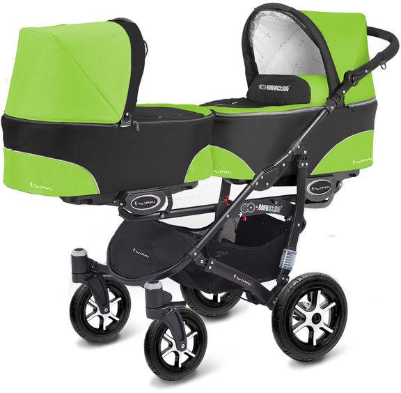 Wózek bliźniaczy BabyActive