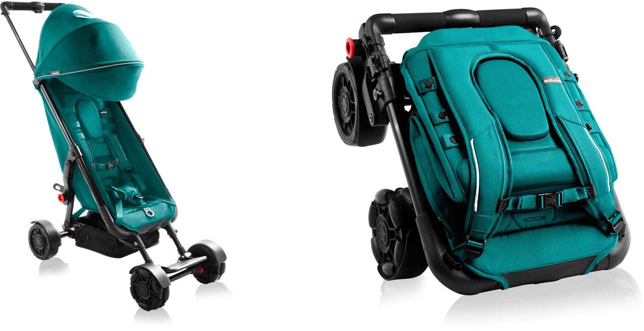 Wózek zielony