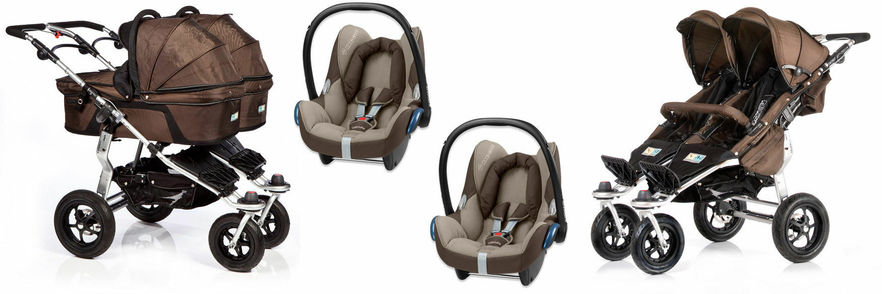 Wózki 3w1 Maxi Cosi