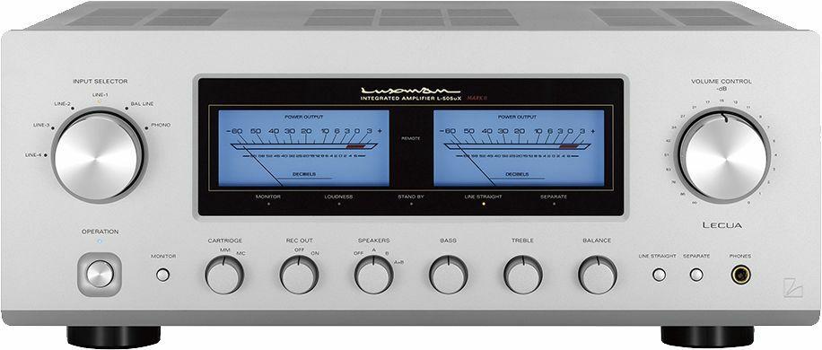 Wzmacniacze stereo Luxman