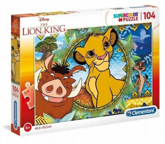 Zabawki z Króla Lwa