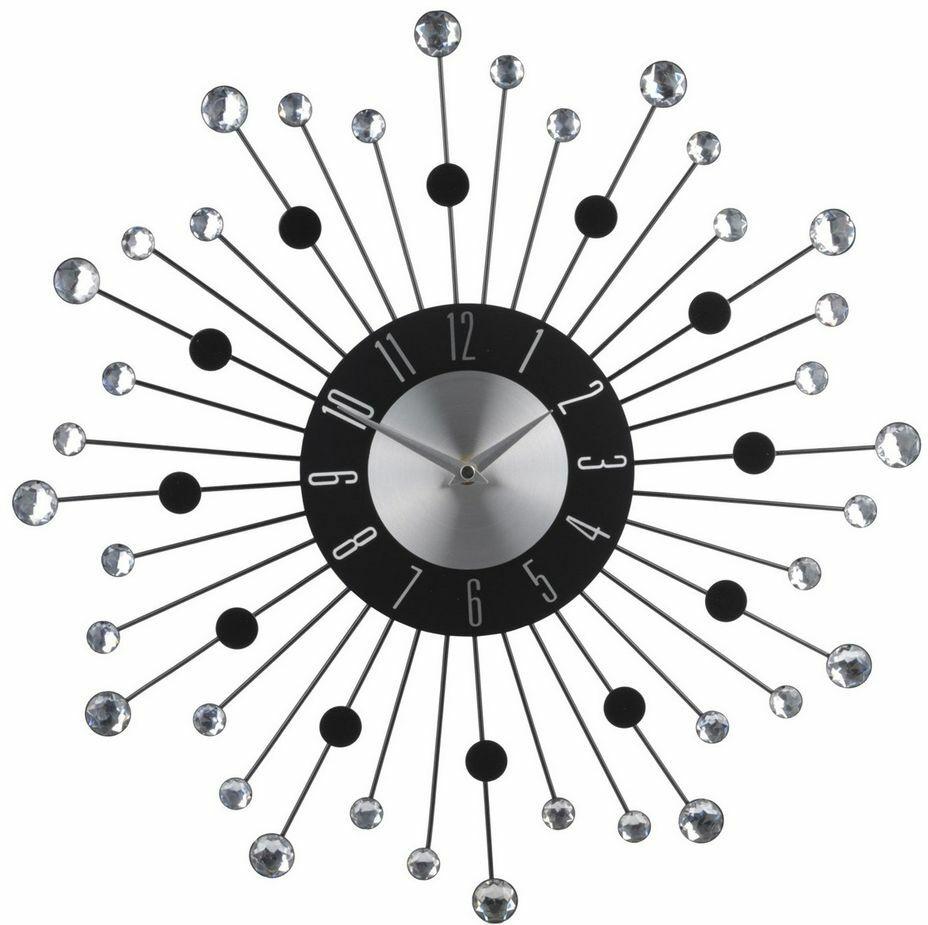 Zegar z kryształkami