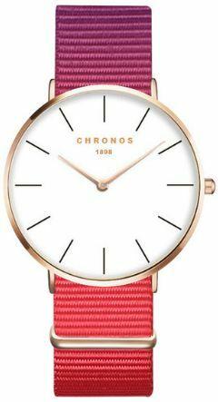 Zegarek na pasku nylonowym