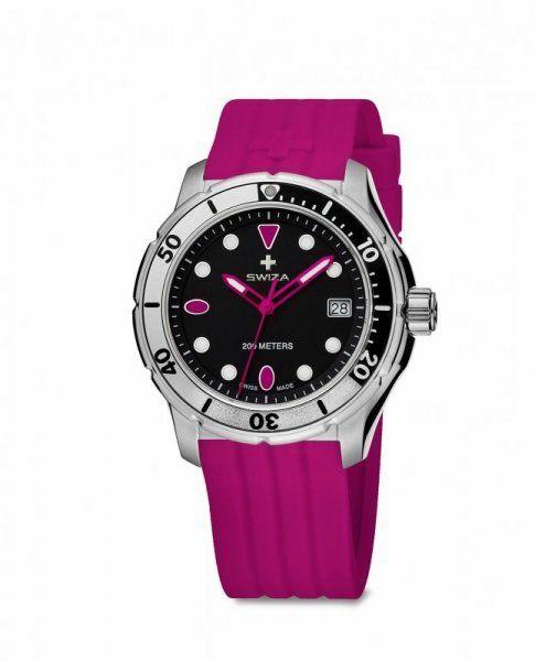Zegarek z głębokościomierzem
