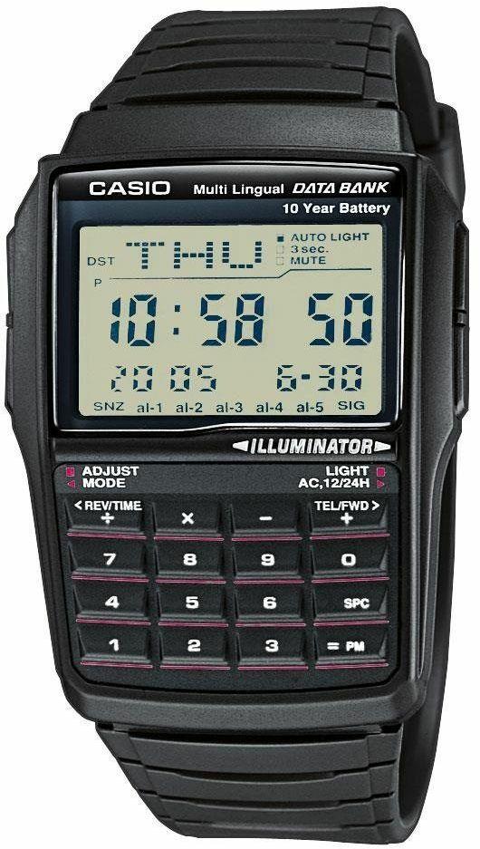 Zegarek z kalkulatorem