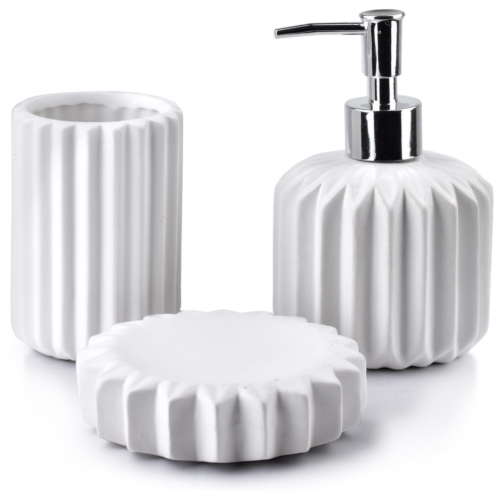 Zestaw łazienkowy biały