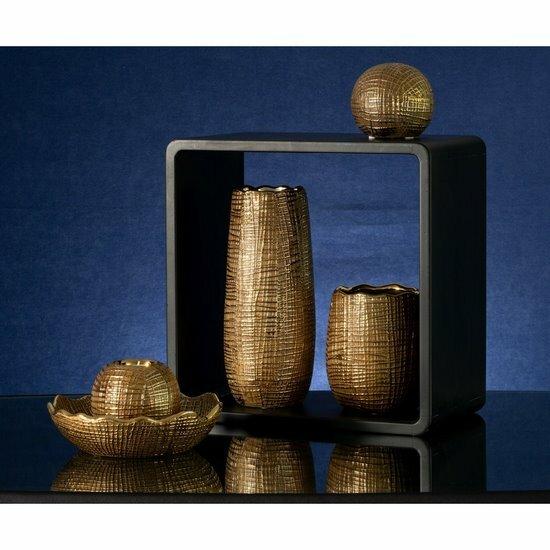 Złoty wazon