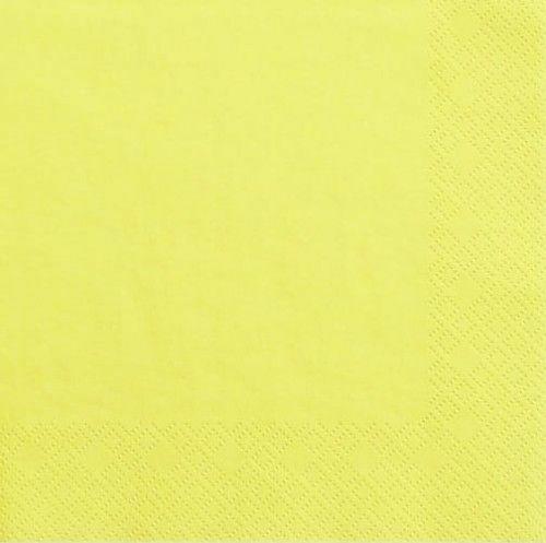 Żółte serwetki