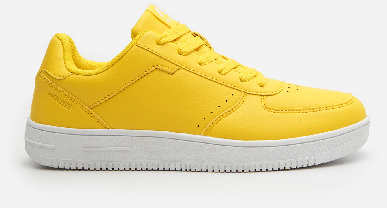 Żółte sneakersy