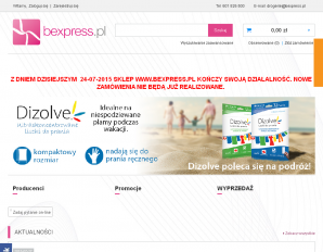 strona bexpress.pl