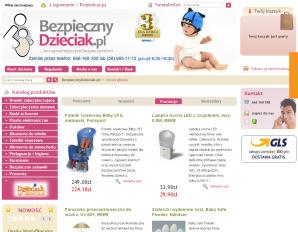 strona BezpiecznyDzieciak.pl