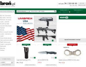 strona Broń.pl