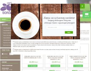strona CafeBorowka.pl
