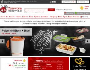 strona CzerwonaMaszyna.pl