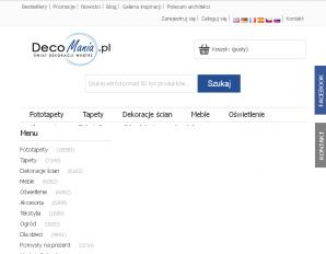 strona DecoMania.pl