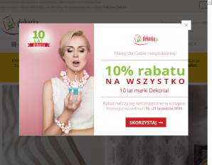 strona Dekoria.pl