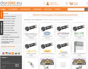 strona doRolet.eu