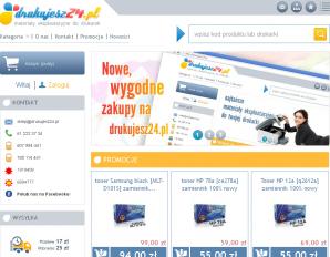 strona Drukujesz24.pl