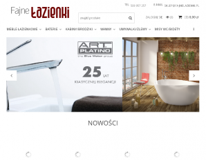 strona FajnaLazienka.com