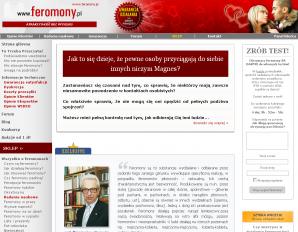 strona Feromony.pl