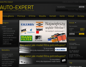 strona Filtry-Oleje.pl