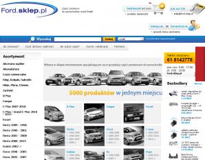 strona Ford.sklep.pl