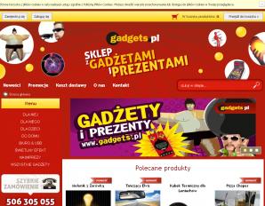 strona Gadgets.pl