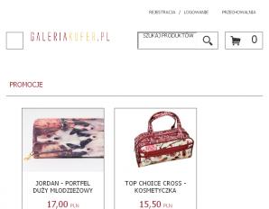strona GaleriaKufer.pl