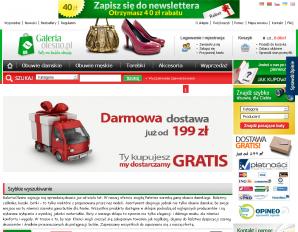 strona GaleriaOlesno.pl