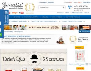 strona Garneczki.pl