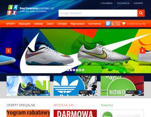 strona HurtowniaSportowa.net