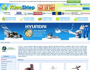 strona KlimaSklep.pl