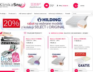 strona KlinikaSnu.pl