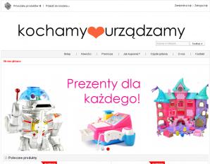 strona KochamyUrządzamy.pl
