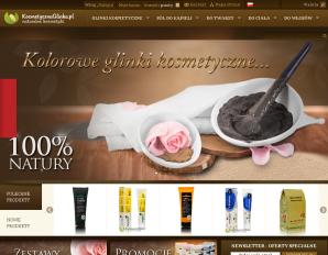 strona KosmetycznaGlinka.pl