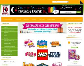 strona KsiazeczkiBajeczki.pl
