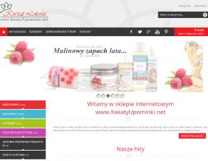 strona KwiatyUpominki.net
