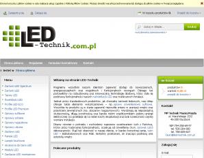strona LED-Technik.com.pl