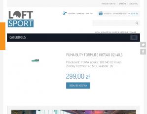 strona Loftsport.pl